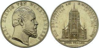 2 Thaler, Württemberg 1871