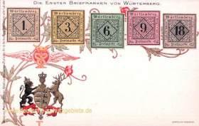 Die Ersten Briefmarken von Württemberg