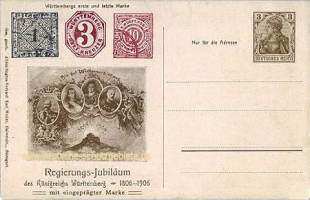 Württembergs erste und letzte Briefmarken