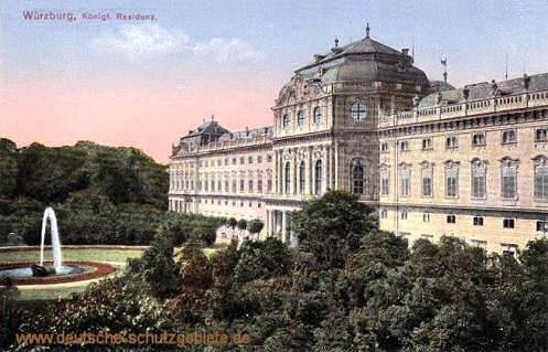 Würzburg, Königliche Residenz