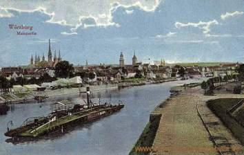 Würzburg, Mainpartie