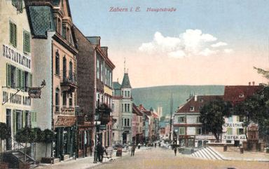 Zabern, Hauptstraße