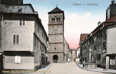 Zabern, Pfarrkirche