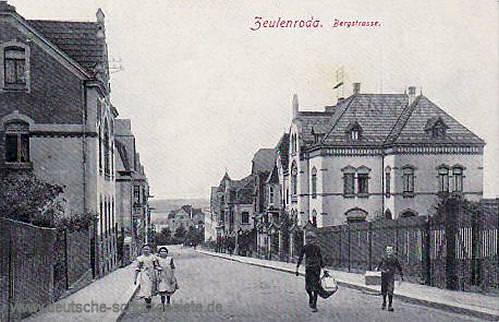 Zeulenroda, Bergstraße