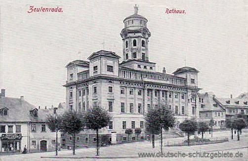 Zeulenroda, Rathaus