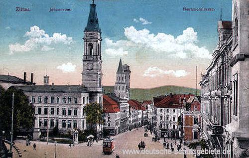 Zittau, Johanneum, Bautzenerstrasse