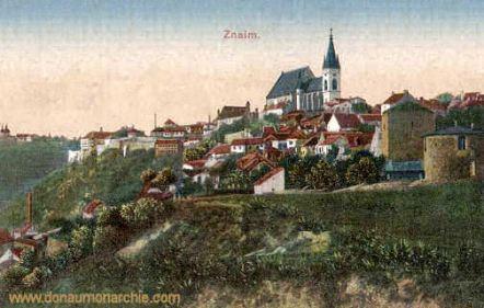 Znaim, Stadtansicht