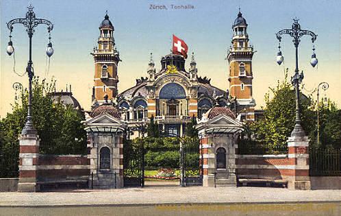Zürich, Tonhalle