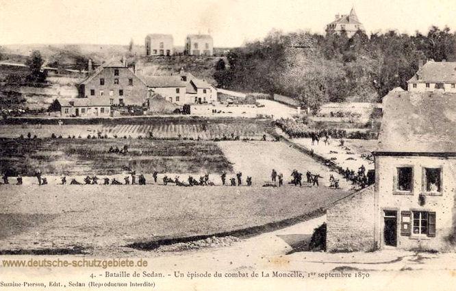 Bataille de Sedan. Un episode du combat de La Mocelle 1et septembre 1870
