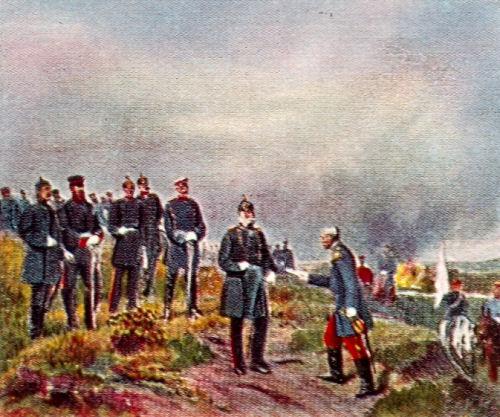 Nach der Schlacht bei Sedan. 1. September 1870