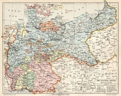 Schlesien Karte Deutsche Ortsnamen.Städte Im Deutschen Reich 1871 1918 Kaiserreich Deutsche