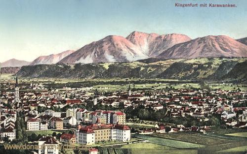 Klagenfurt mit Karawanken
