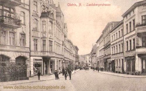 Küstrin-N., Landsbergerstraße