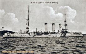S.M. Kleiner geschützter Kreuzer Danzig