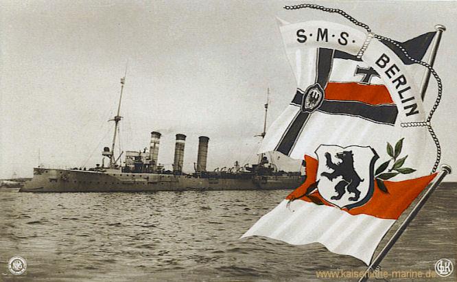 SMS Berlin, Kleiner Kreuzer