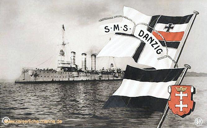 S.M.S. Danzig, Kleiner Kreuzer