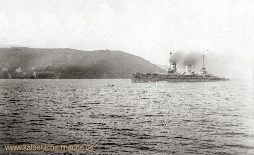 S.M.S. Goeben vor Istanbul