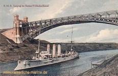 S.M.S. Leipzig im Kaiser-Wilhelm-Kanal