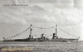 S.M.S. Moltke vor Hampton/USA am 3. Juni 1912