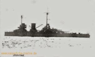 S.M.S. Moltke in Scapa Flow
