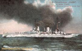 S.M.S. Moltke, Panzerkreuzer