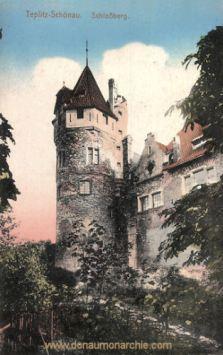 Teplitz-Schönau, Schlossberg