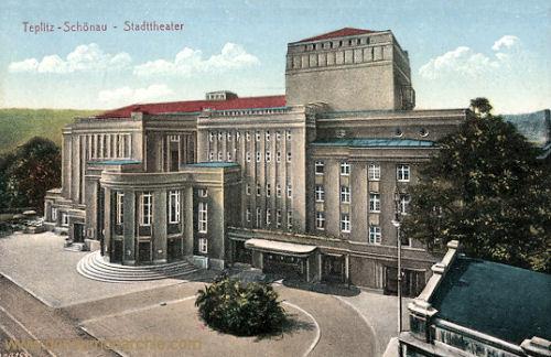 Teplitz-Schönau, Stadttheater