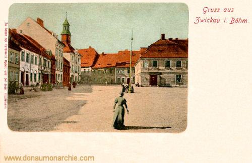 Gruß aus Zwickau in Böhmen