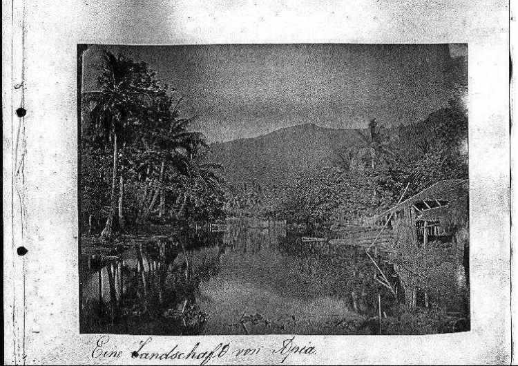 Eine Landschaft von Apia