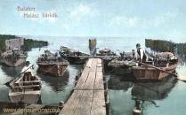 Plattensee - Balaton Halász bárkák