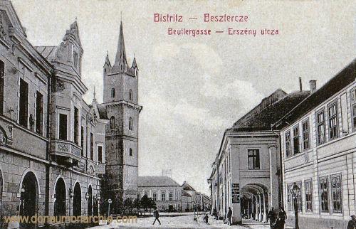 Bistritz - Besztercze, Beutlergasse