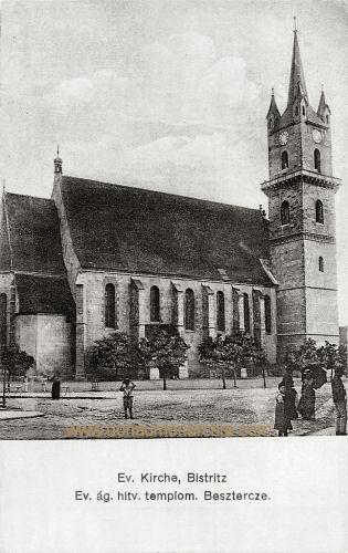 Bistritz - Besztercze, Evangelische Kirche