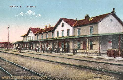 Brod an der Save, Kolodvor (Bahnhof)