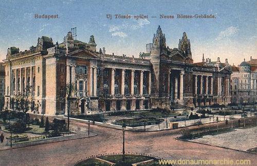 Budapest, Neues Börsen-Gebäude