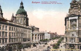 Budapest, Waitznerstraße mit der Basilika