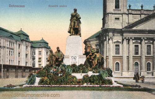 Debreczen, Kossuth szobor (Kossuth-Denkmal)