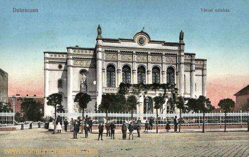 Debreczen, Városi színház (Stadttheater)