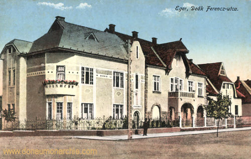 Erlau (Eger), Deák Ferencz utca (Ferenc Deák-Straße)