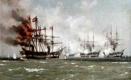 Gefecht bei Helgoland am 9. Mai 1864