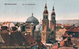 Hermannstadt (Nagyszeben - Sibiu), Griechisch-orientalische Kathedrale