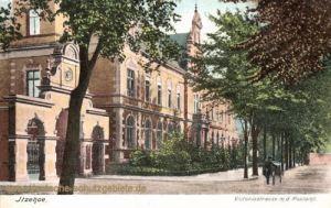 Itzehoe, Victoria-Straße m.d. Postamt