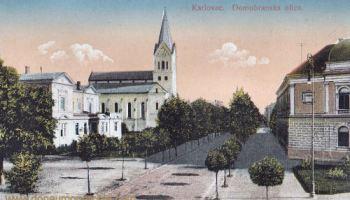 Karlstadt (Karlovac), Domobranska ulica (Domobranska Straße)