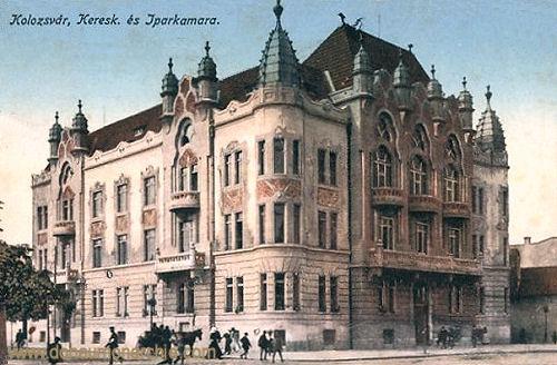 Klausenburg (Kolozsvár - Cluj), Keresk es Iparkamara (Handels- und Industriekammer)