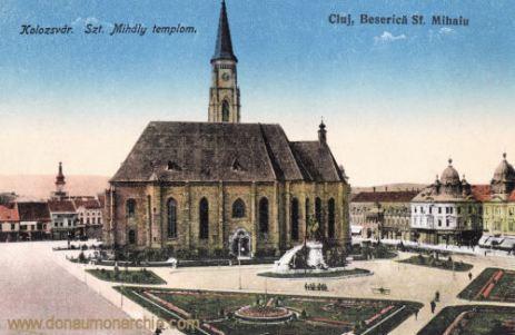 Klausenburg (Kolozsvár - Cluj), Szent Mihály templom (Michaelskirche)