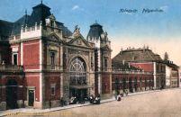 Klausenburg (Kolozsvár - Cluj), Pályaudvar (Bahnhof)