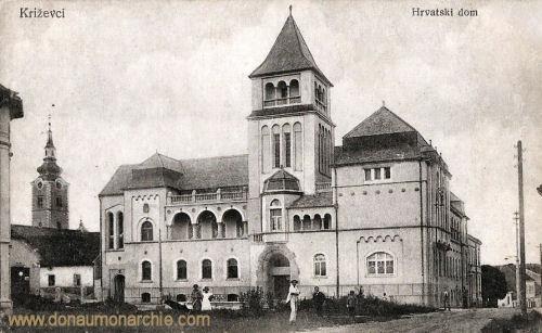 Kreutz (Križevci), Hrvatski dom (Kroatisches Haus)