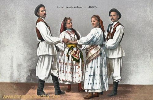 """Kroatien Trachten - """"Kolo"""""""