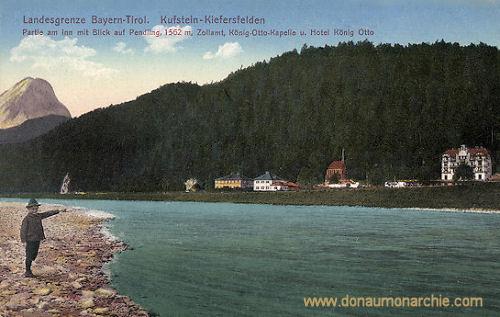 Kufstein-Kiefersfelden, Landesgrenze Bayern-Tirol