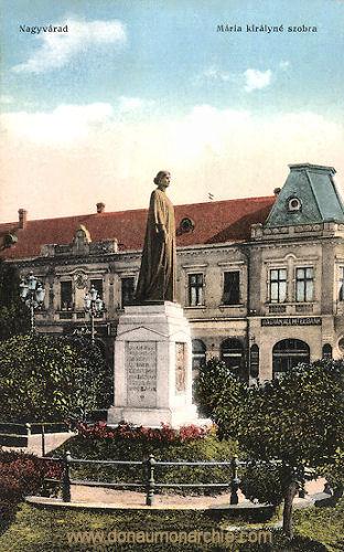 Großwardein (Nagyvárad), Mária királyné szobra