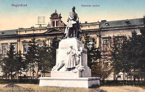 Großwardein (Nagyvárad), Szacsvay szobor (Szacsvay-Denkmal)